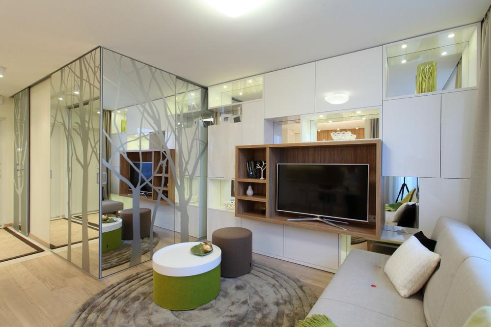 Дизайн комнаты 35 кв м