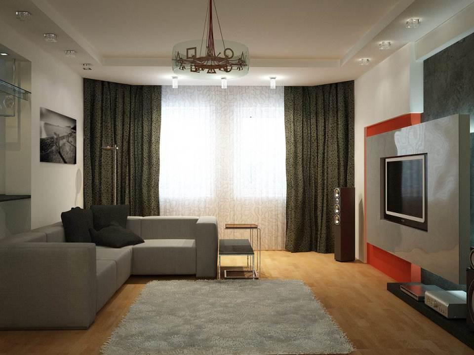 Современный ремонт в комнате