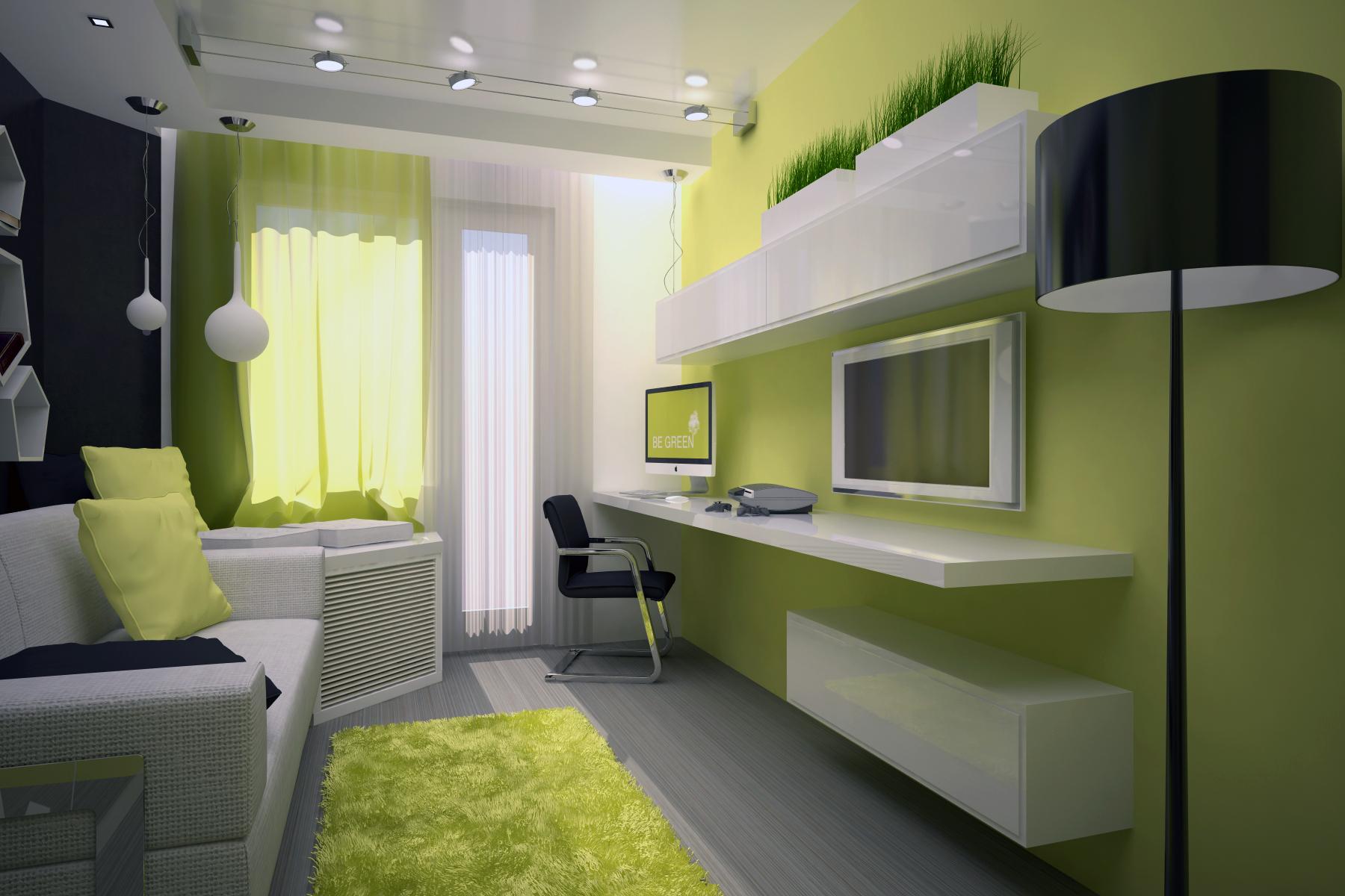 ремонт комнаты 10 кв.м. фото