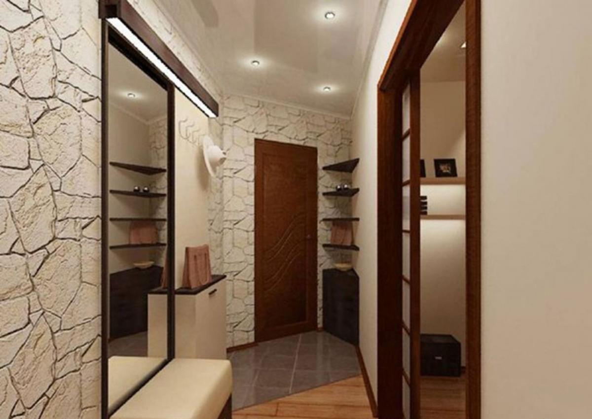 Дизайн интерьера прихожей в доме 39