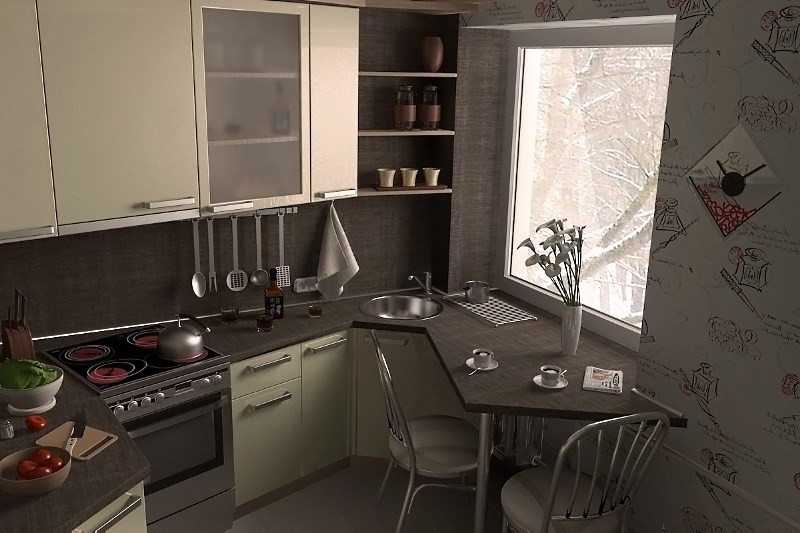 Как сделать хороший ремонт на кухне 47