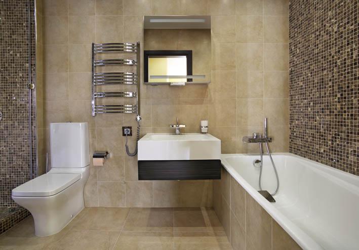 Ремонт ванной 5 м2